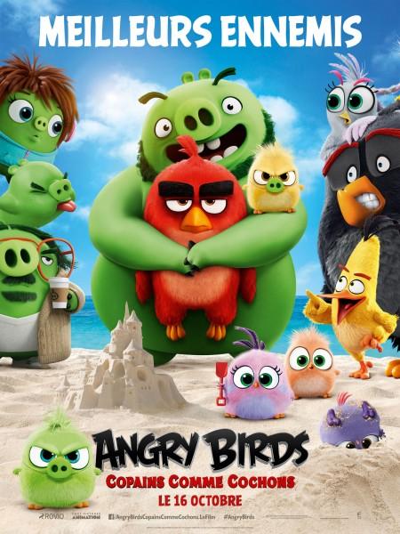 Comme Des Betes Bande Annonce Angry Birds Copains Comme Cochons De Thurop Van Orman 2019