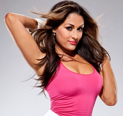 Nikki bella hot pink wwe photo shoot nikki bella - Diva nikki bella ...