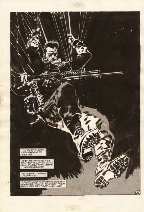The Punisher by Jorge Zaffino