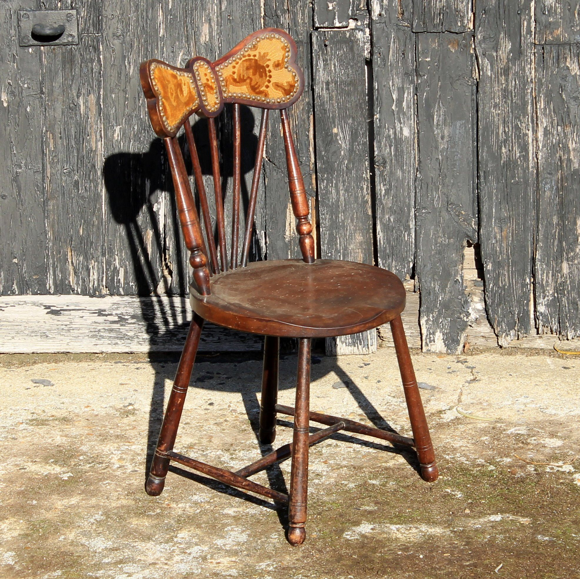 Victorian Antique Mahogany Small Bedroom Chair By OriginAntiques On Etsy