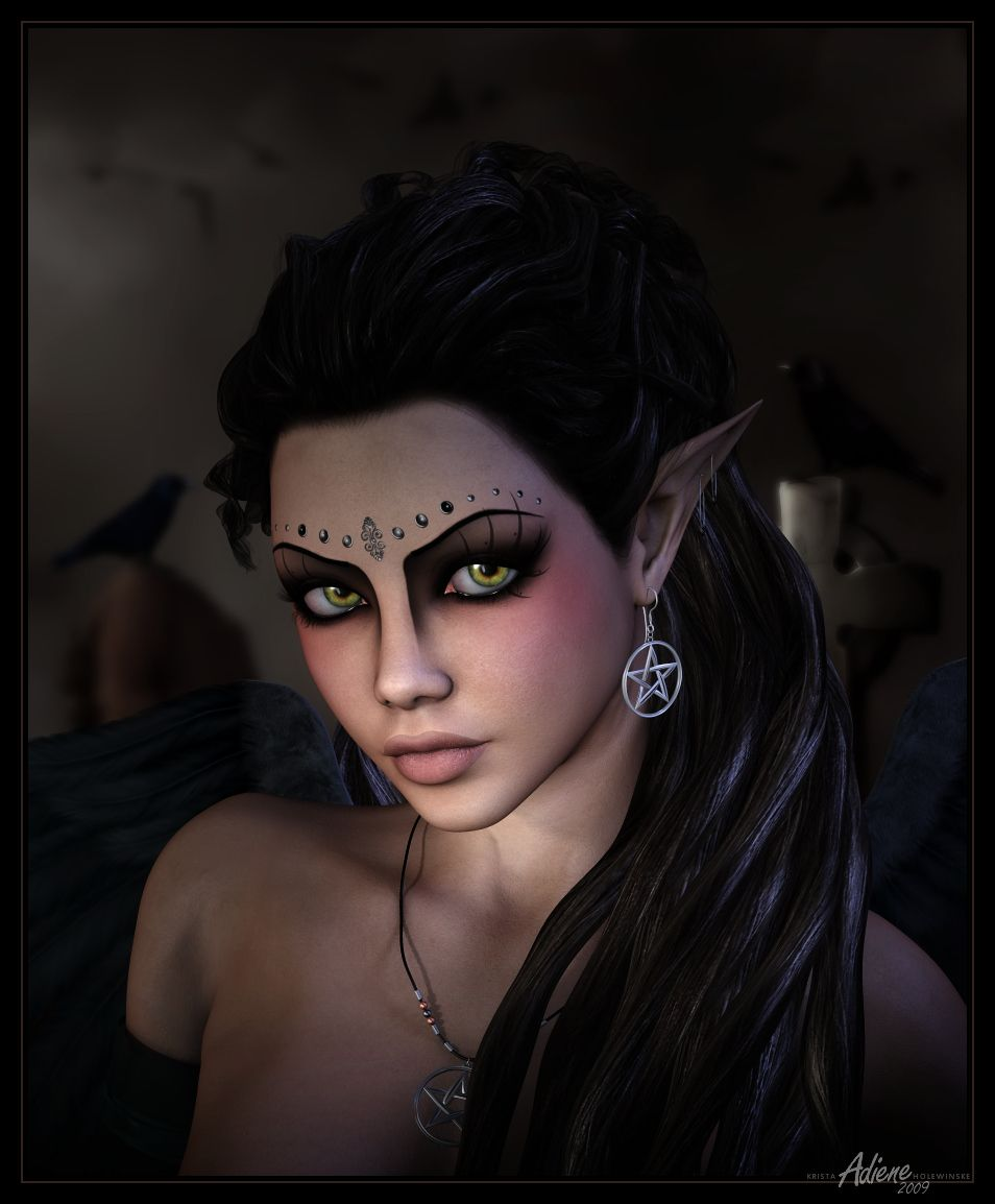 Dark Elf Make Up Pinterest Elfo Halloween And Elfa - Maquillaje-elfo