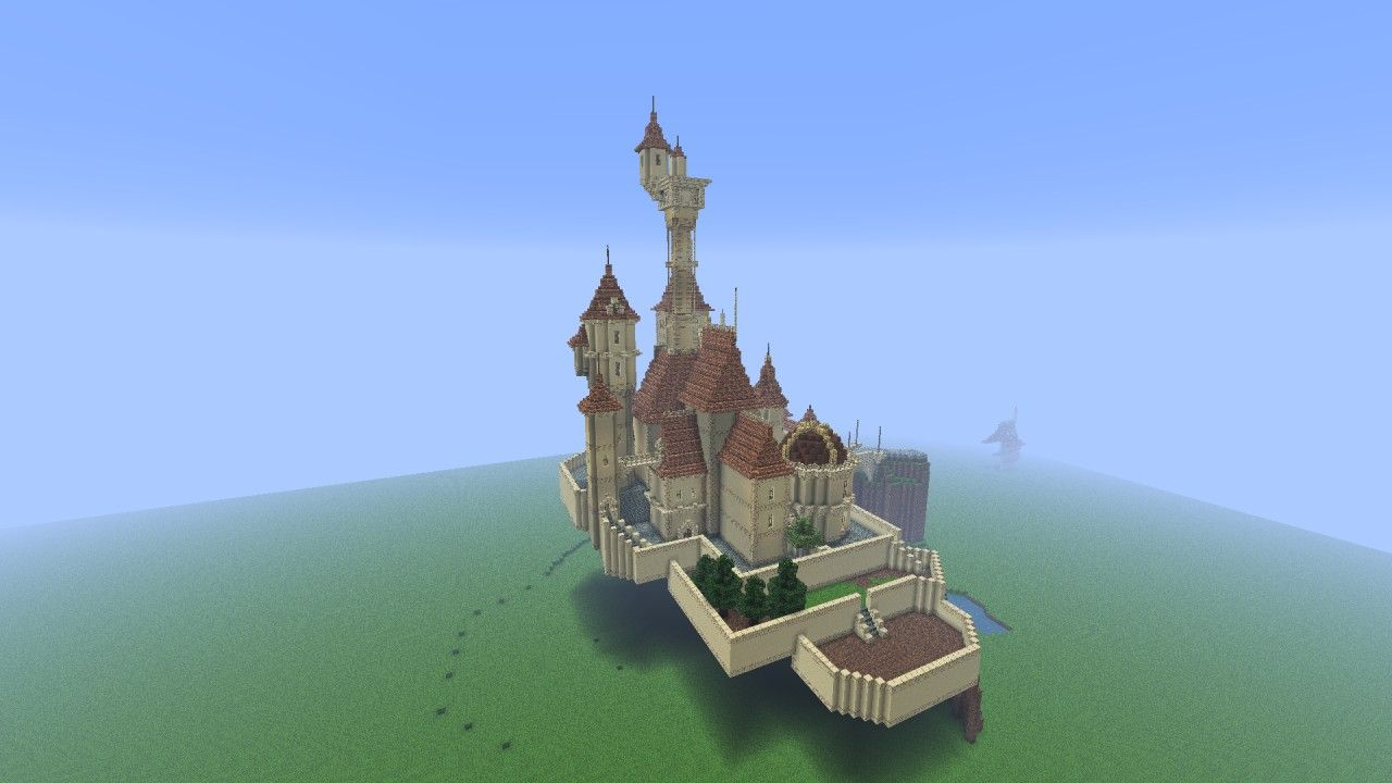 Beauty And The Beast Castle Minecraft Project Brian