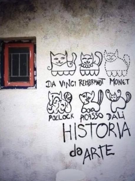 Historia del arte con gatitos :3