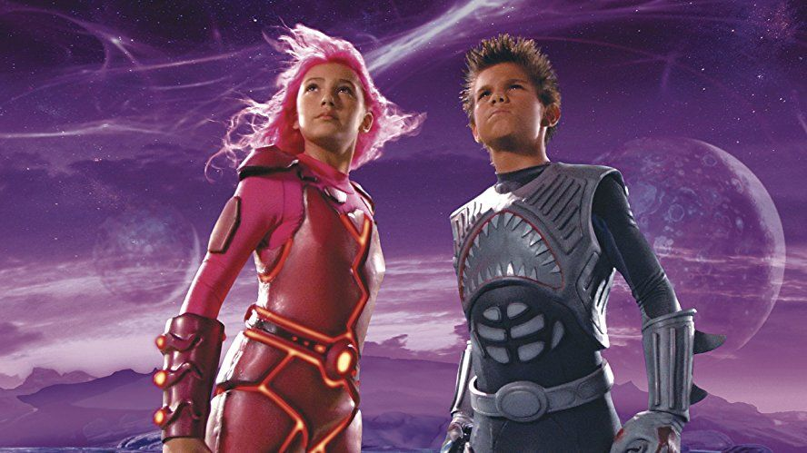 Taylor Lautner And Taylor Dooley In The Adventures Of Sharkboy And Lavagirl 3 D 2005 Sharkboy And Lavagirl Taylor Lautner Kids Movies