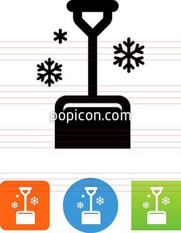 Snow Shovel Icon