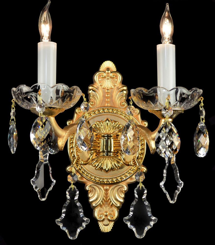 French wall sconces bronze brass crystal glass chandelier french wall sconces bronze brass crystal glass chandelier reproduction antique arubaitofo Image collections