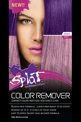 Splat Hair Color Splat Hair Dye Splat Hair Color Hair Dye Removal
