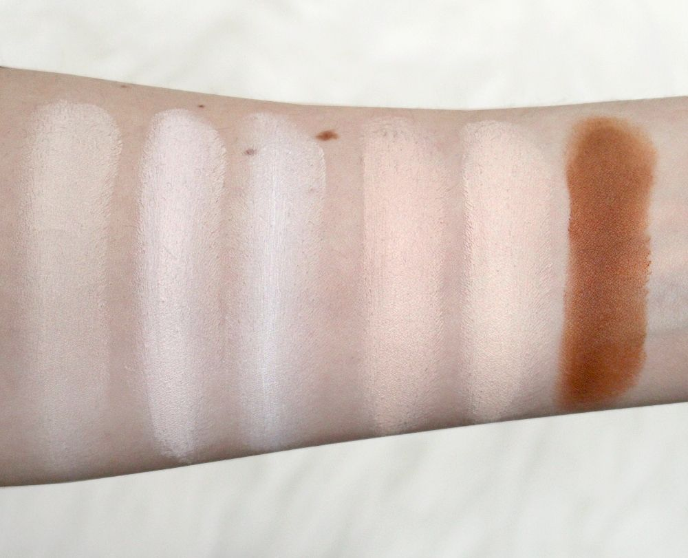 Morphe Brushes Cream Foundation Swatch