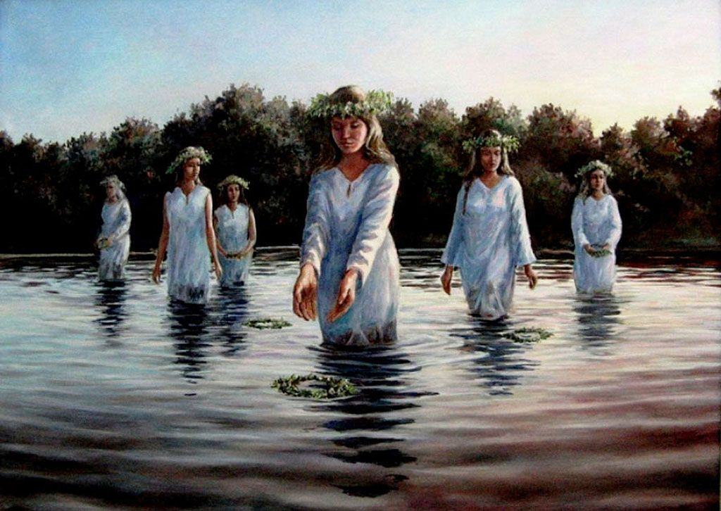 картинки ритуала очищения воды двадцативосьмилетнюю