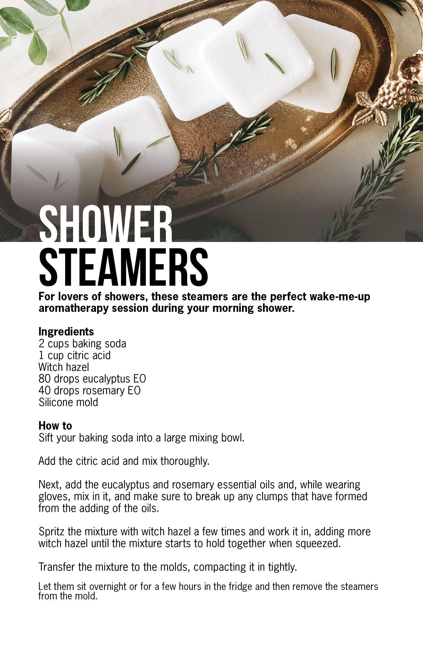 ♥ Make Shower Steamers ♥