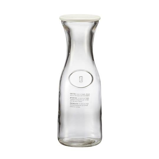 Small Glass Carafe With Lid By Ashland Mini Glass Bottles