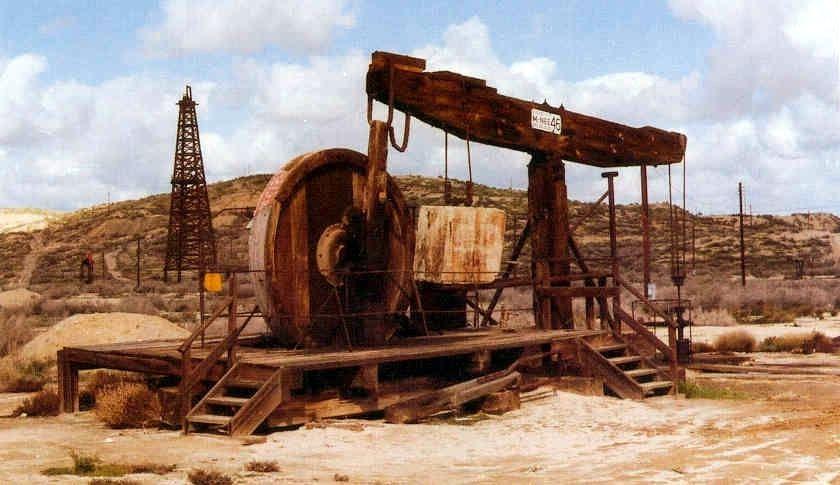 Old Stuff from the Oil Fields Pumping Jacks Oilfield