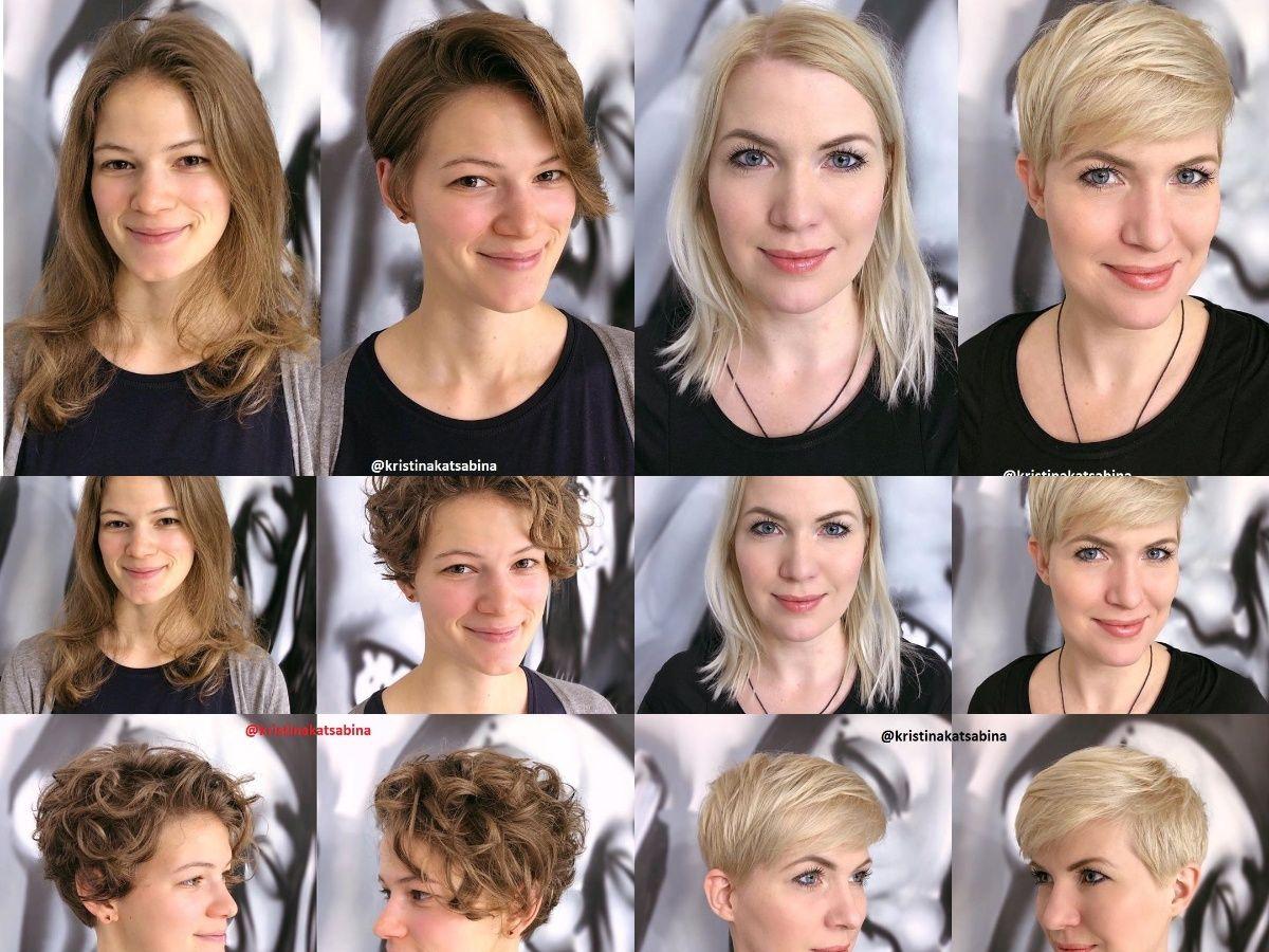 Tolle Vorher Nachher Frisuren 2020 Frisuren Fur Die Frau In 2020 Vorher Nachher Frisuren Haare Vorher Nachher Frisuren