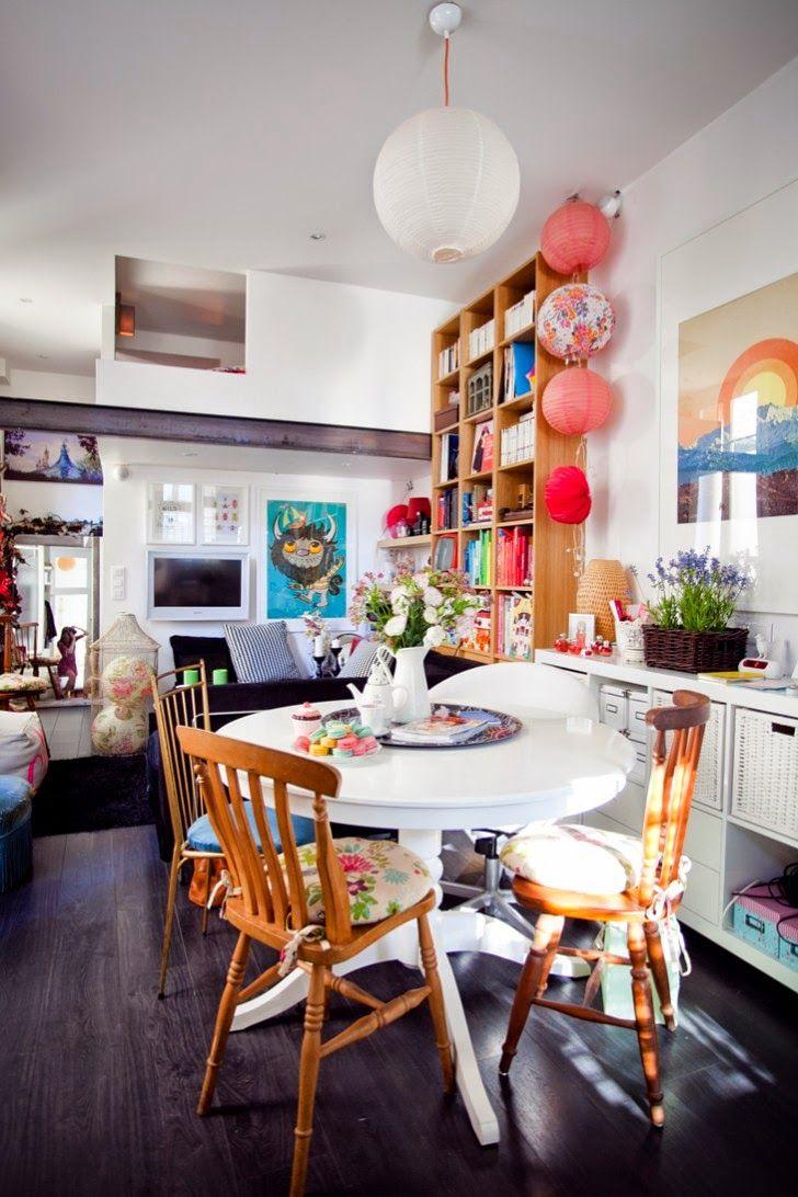 Grandes mesas redondas para la cocina. | Cocinas | Pinterest | Mesa ...