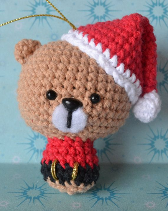 Christmas Animals Amigurumi Pattern | Navidad | Pinterest | Animales ...