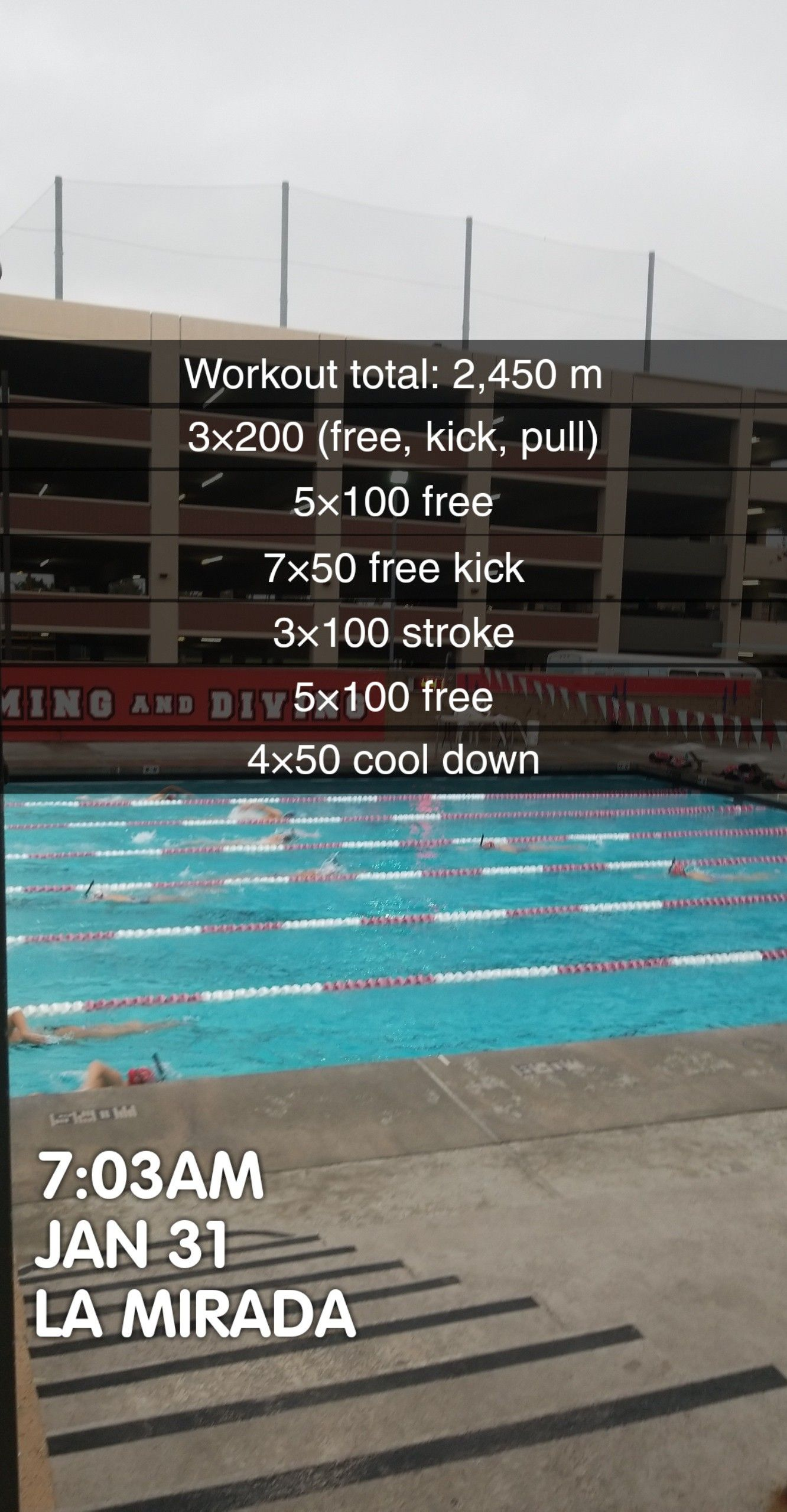 Pin By Mandy Tate On Swim Workouts Intermediate Swimming Workout Competitive Swimming Workout Swimming Pool Exercises