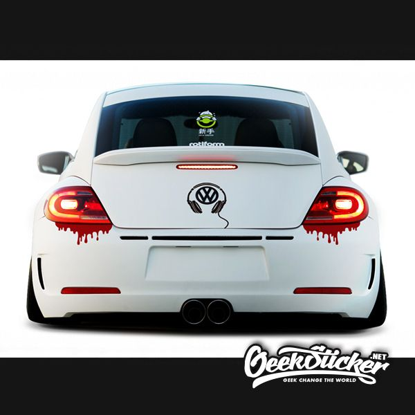 Aliexpresscom Buy Free Shipping Pcslot Cool Blood Reflective - Cool decals for cars