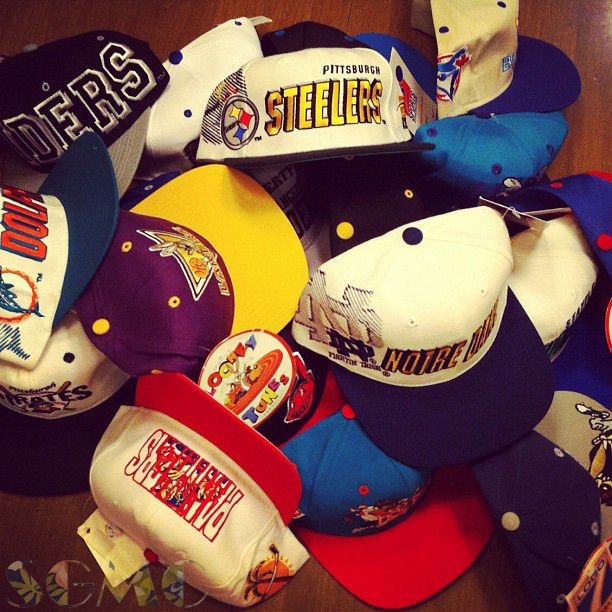 on sale 854e7 0d793 Deadstock snapback hats made in the 80s and 90s. Unworn and in perfect  condition, vintage NFL, NBA, MLB, NHL or even a Space Jam snapback is the  ultimate ...