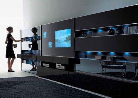 contemporary wall unitmisuraemme - monos modular wall system