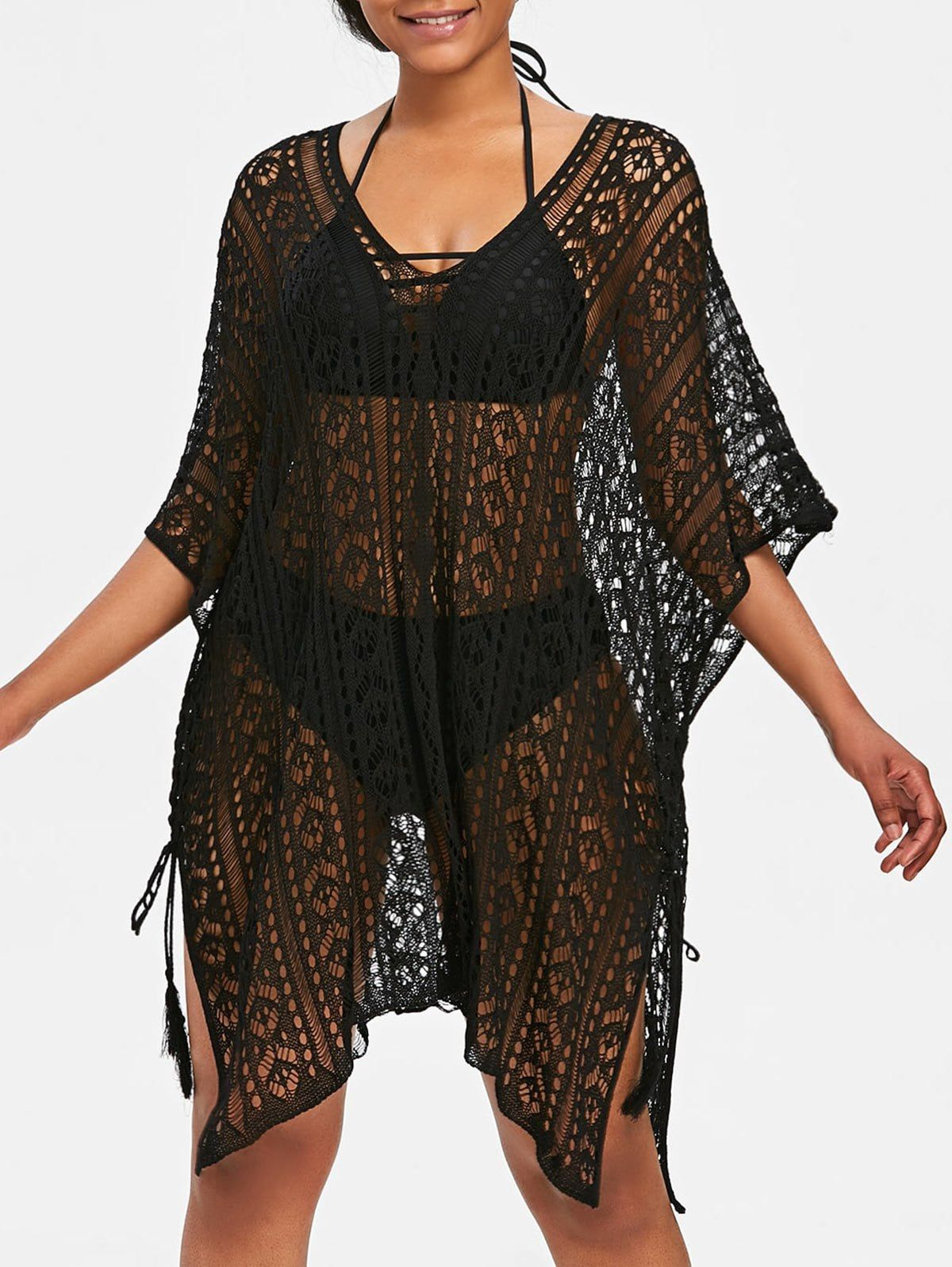 5a72acf8f2 Asymmetric Knit Beach Cover Up #CHEAP#BEST#FASHION#FOR EVERYONE#SALE#FREE  SHIPPING# RGBF1 Get 25% OFF Discount! Use Code:RGBF1 Get Extra 25% OFF