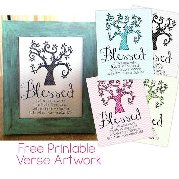 Free Online Bible Quotes: Free Printable Bible Verse Decor