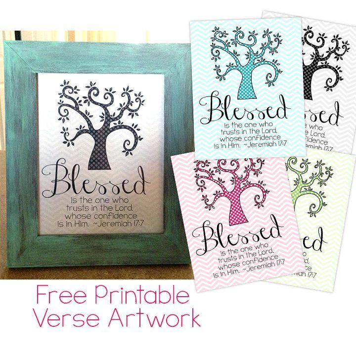 free printable bible verse decor - Free Printable Pictures