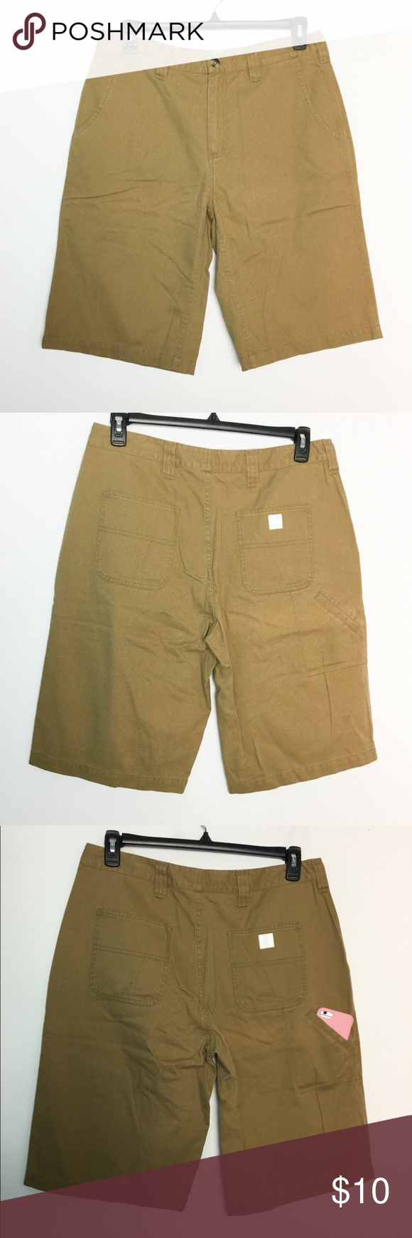 "e1b90a04abd Carhartt 34 Shorts Rugged Flex 13"" Rigby Khakis NWOT New Without ..."