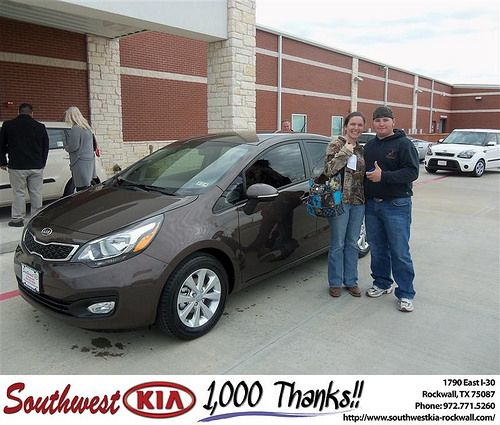 Happy Anniversary to Jamie Dyer on your 2012 #Kia #Rio from Richard Branch and everyone at Southwest KIA Rockwall! #Anniversary