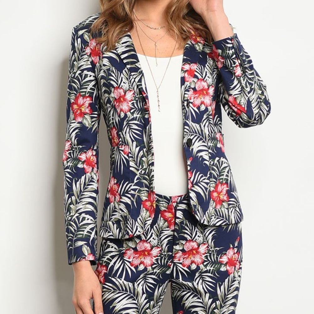 Printed Pant Suit For Ladies