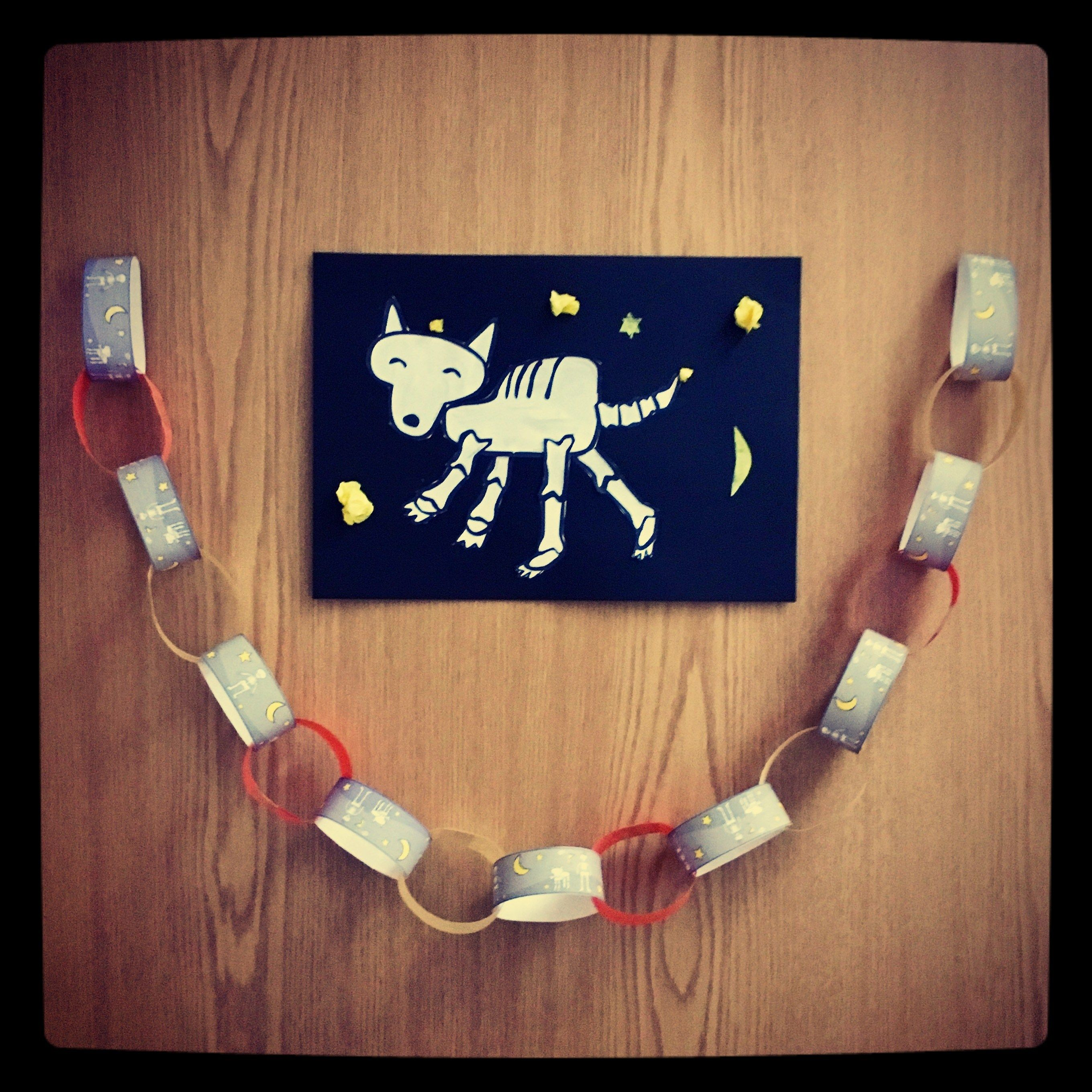 Simple And Fun Hallowe En Paperchains Made With