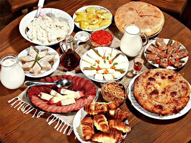 Christmas dinner :) | Serbian recipes, Food, Bulgarian recipes