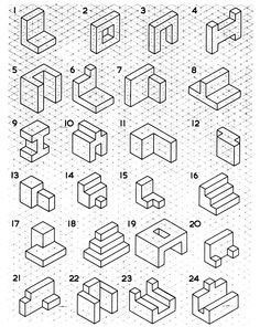 17 Best Ideas About Isometric Drawing On Pinterest