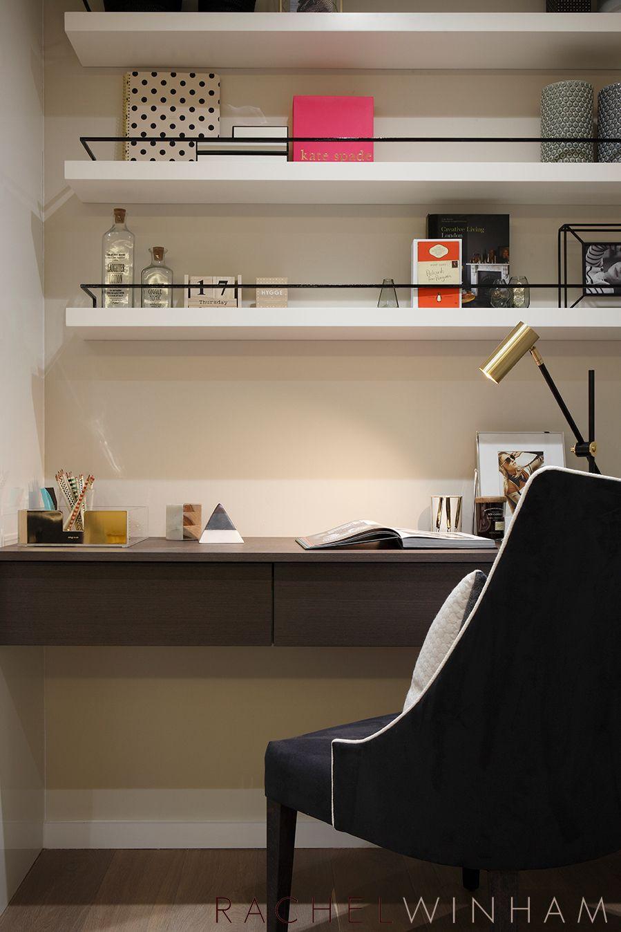 Study Room Interior Design: Rachel Winham Interior Design