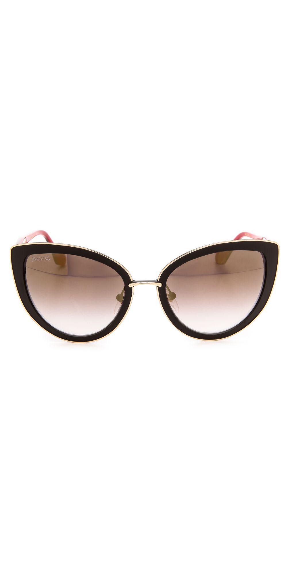 7c80c7a08c Dita Von Teese Eyewear Sophisticat Sunglasses