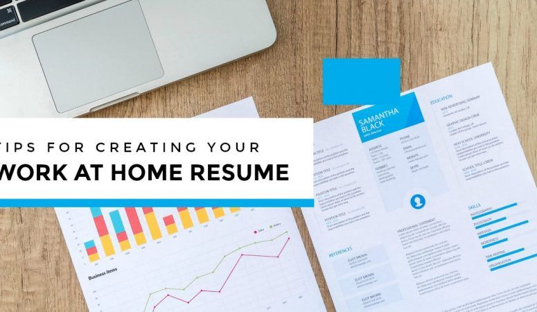 work from home resume tips for 2019