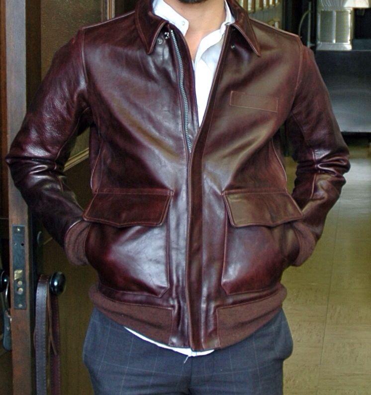 Horsehide A2 jacket