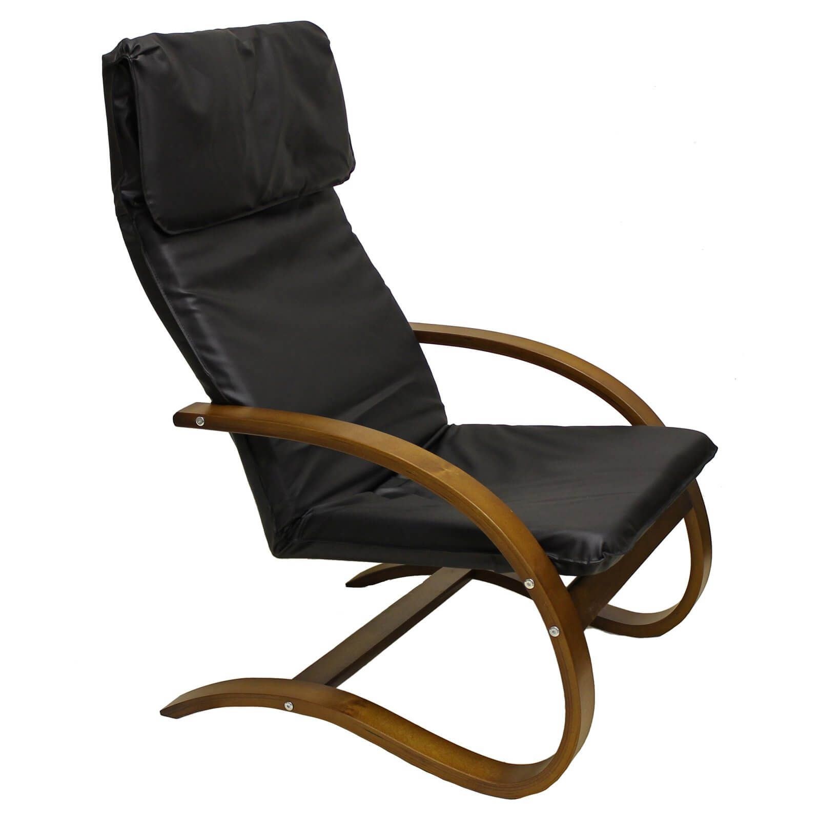 The Stockholm Lounge Chair Fuses Together The Elegant And The Contemporary  Into A Distinctively European Design. Featuring Comfortable Faux Leather ...