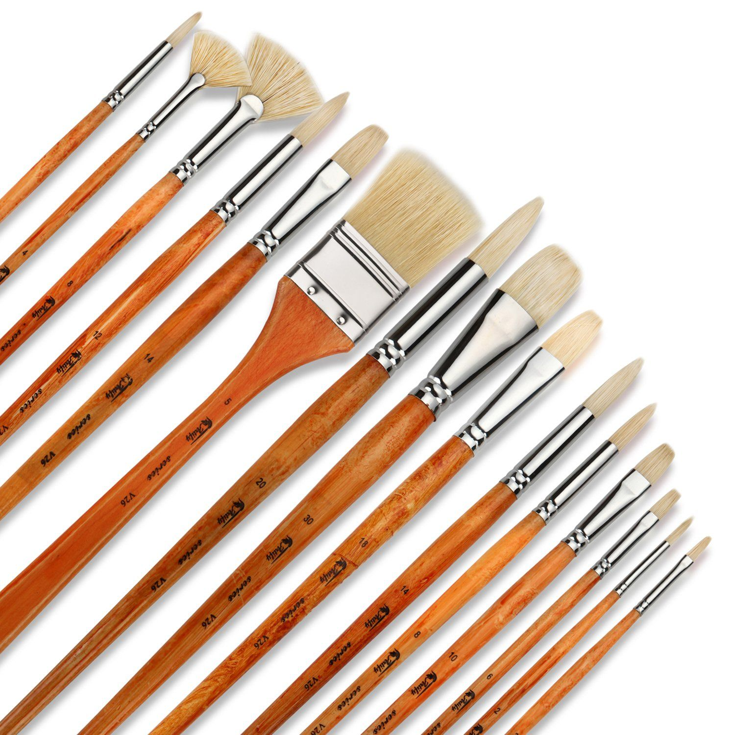7 of the Best Brushes for Oil Painting Oil paint brushes
