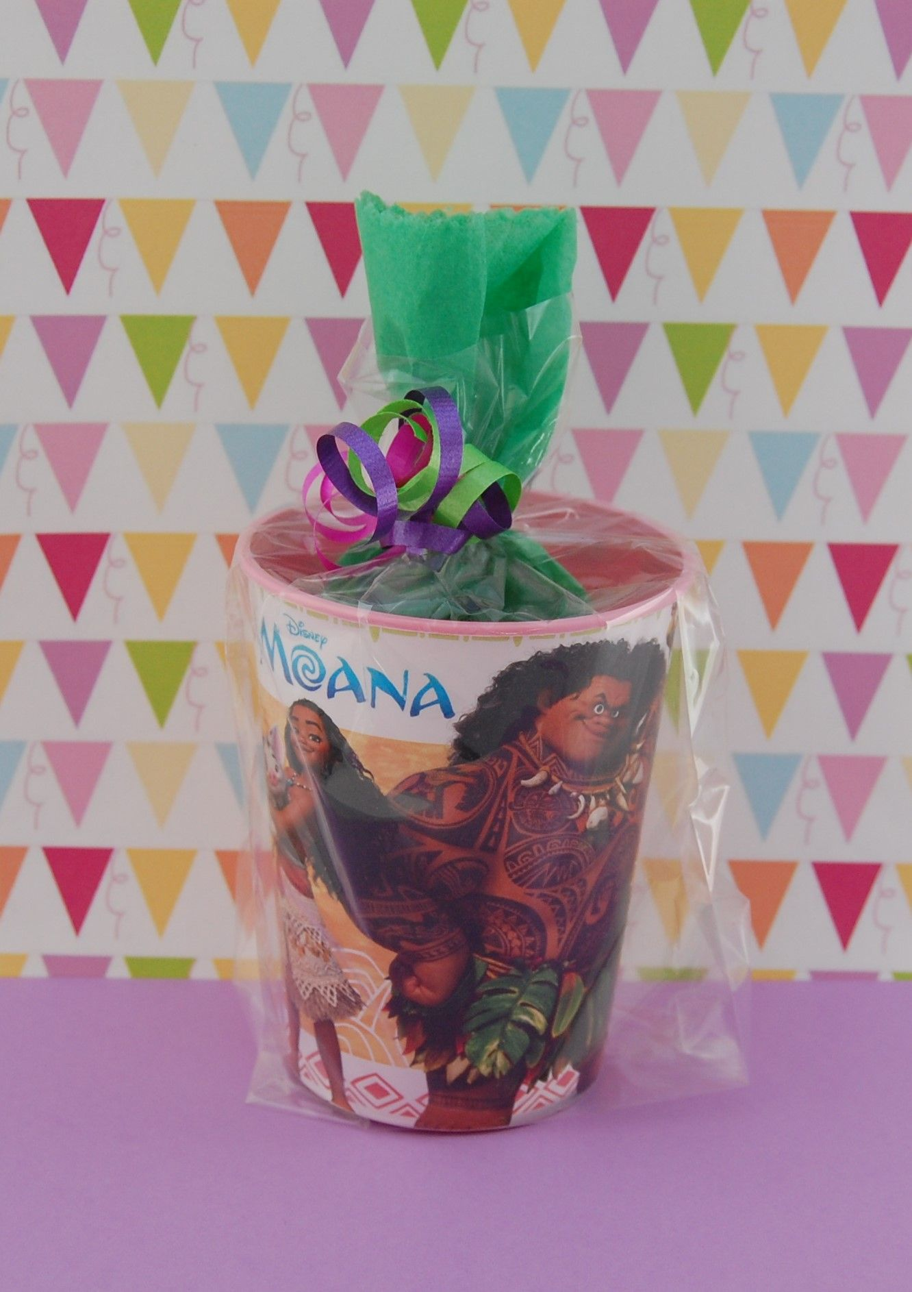 MOANA Pre Filled Party Favors Goodie Bags For Kids Birthday Parties