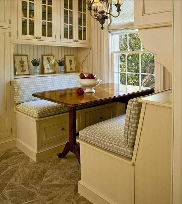 20 tips for turning your small kitchen into an eat in for Small cozy kitchen ideas