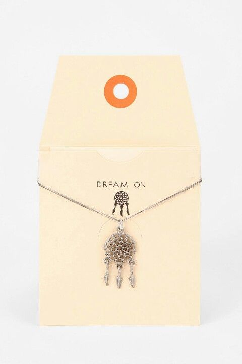 Dreamcatcher necklace urban outfitters