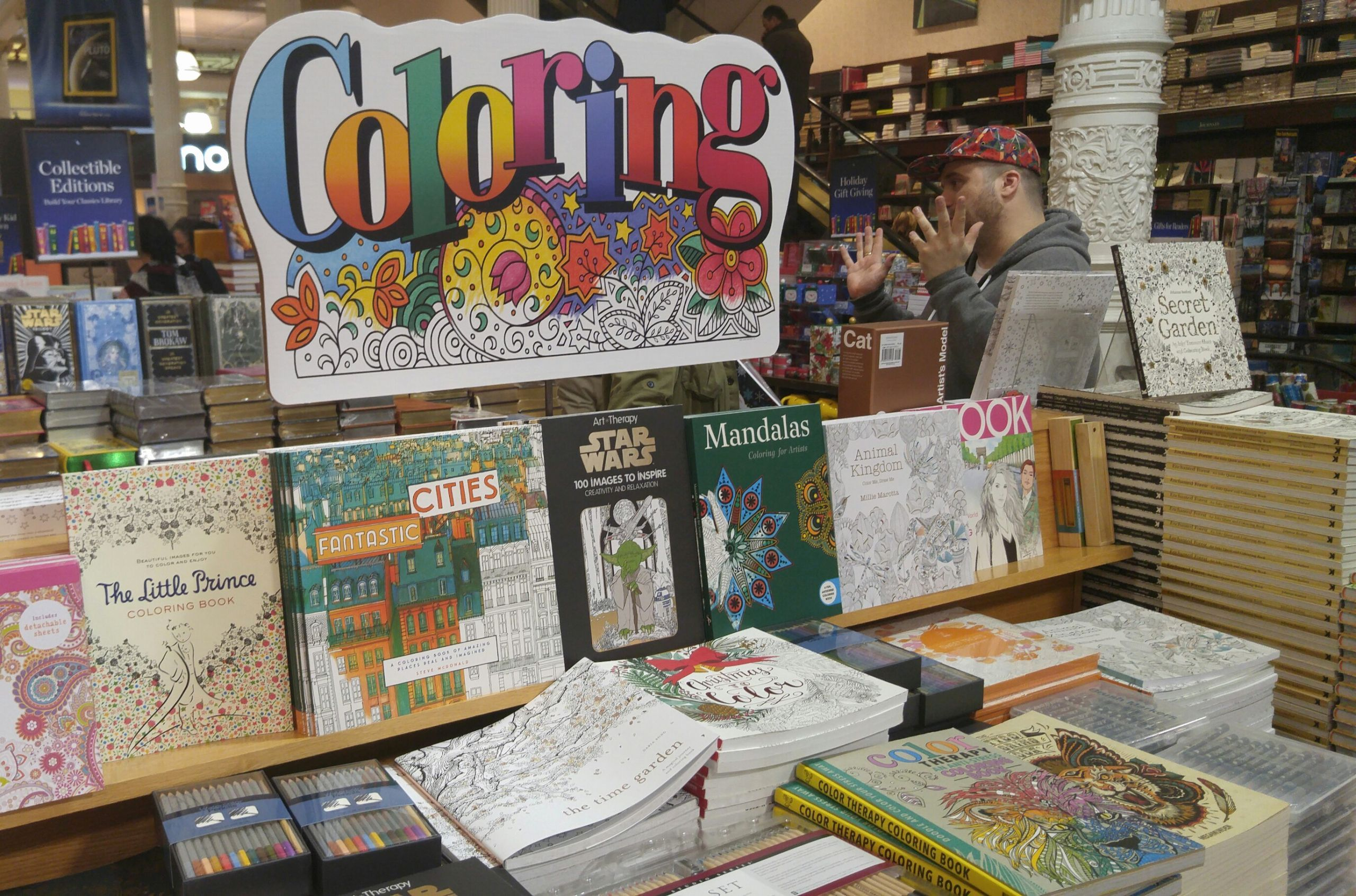 21 barnes and noble coloring books for adults in 2020