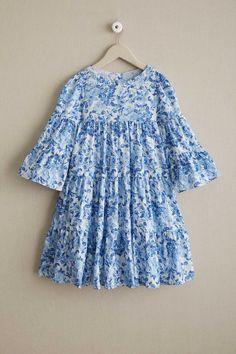 Girls Bluebell Dress | Chasing Fireflies