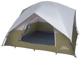 Trek Tents 218 Family Dome Tent 10 X 10 Camping Tent With Images Family Tent Camping Tent Camping Tent