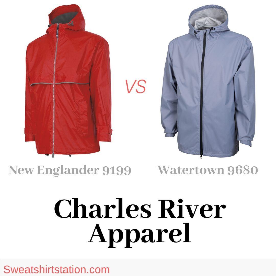 Charles river apparel new englander rain jacket vs