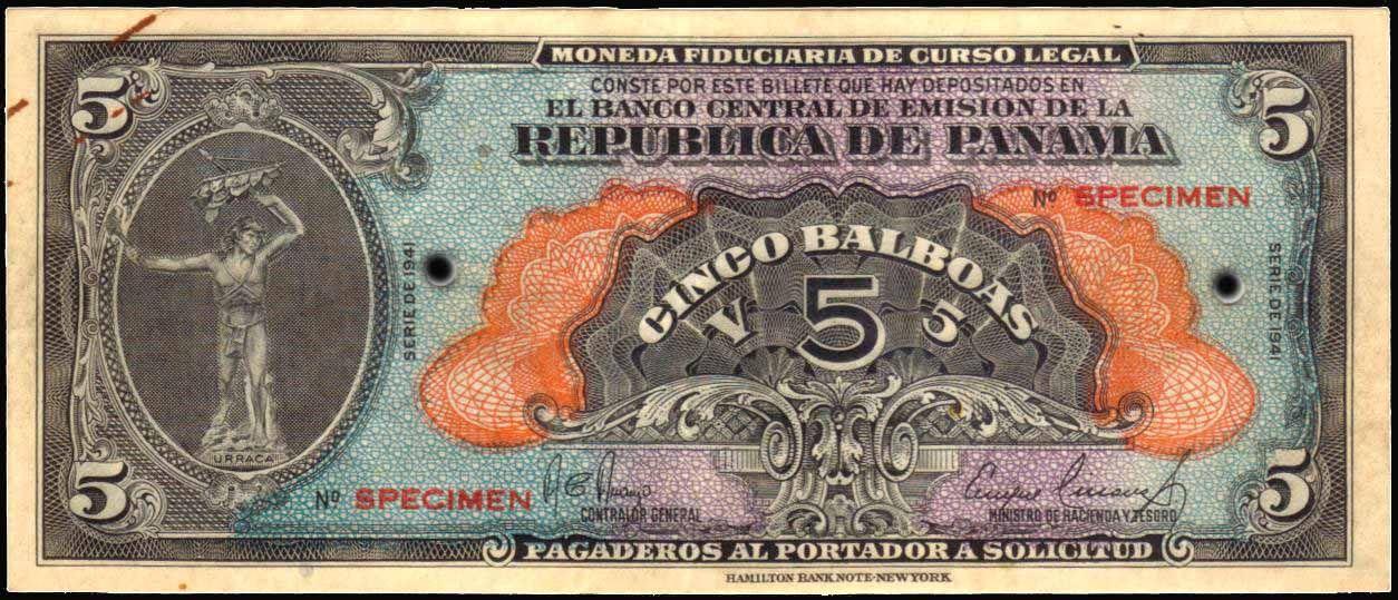 Panamanian Balboa 1 Pab Is The Same As Usd