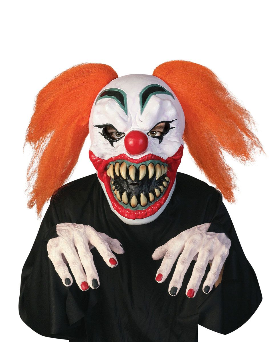 Clown Mask With Hands – Spirit Halloween | Evil Pins | Pinterest ...