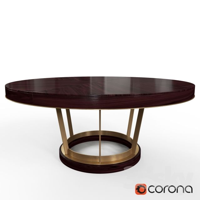 3d models: Table - DELANEY DINING TABLE