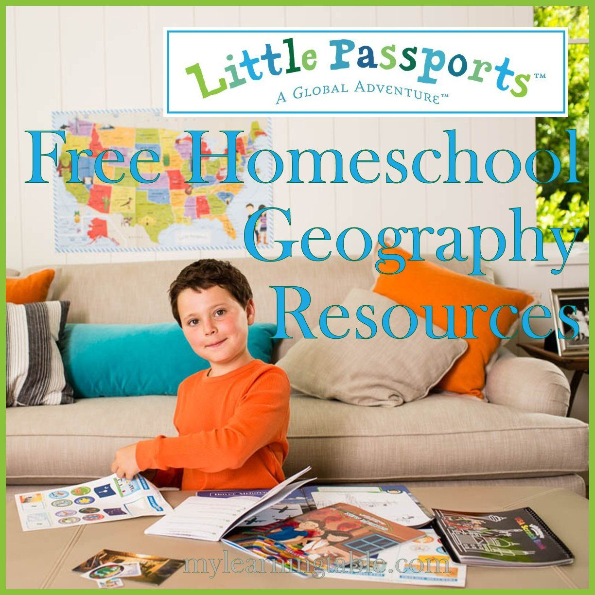 Free Homeschool Geography Resources