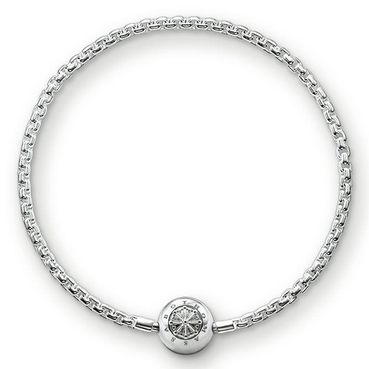 THOMAS SABO Karma Bead Armband aus der Sterling Silver Kollektion. Armband mit…